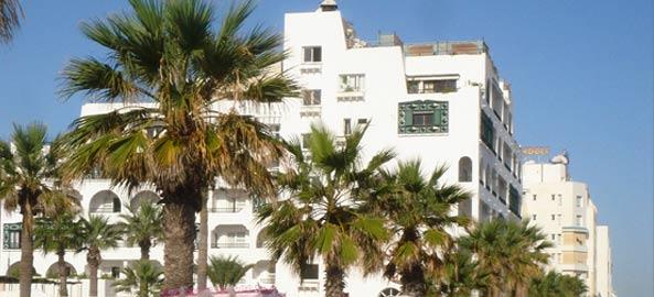Hotele blisko centrum Tunezja